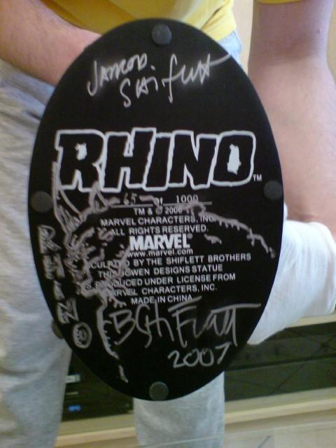 RHINO Rhino-base